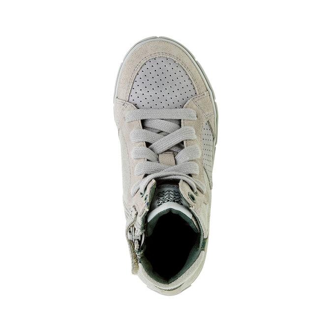 Dětské kotníčkové tenisky geox, šedá, 319-2101 - 19