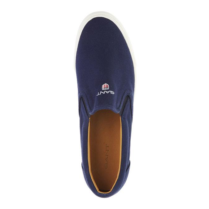 Pánská obuv Slip on gant, modrá, 839-9005 - 19