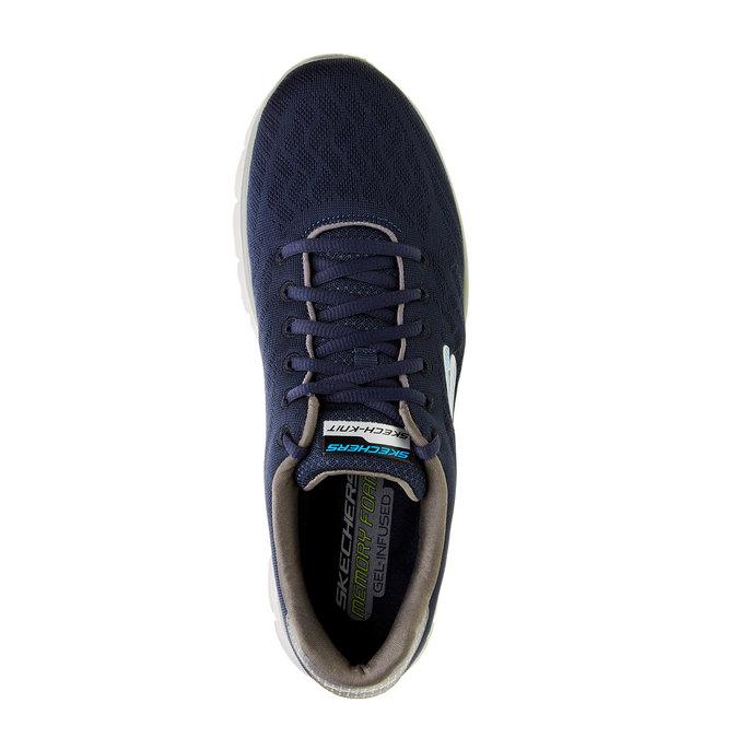 Pánské sportovní tenisky skecher, modrá, 809-9979 - 19