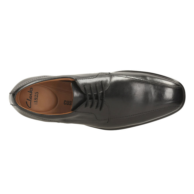 Leather Derby Shoes clarks, černá, 824-6322 - 19