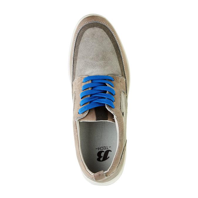 Pánská vycházková obuv, šedá, 843-2631 - 19