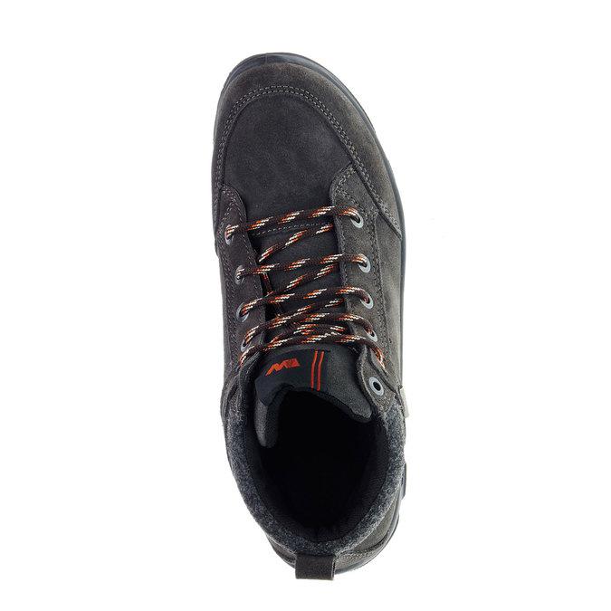Kožené zimní boty weinbrenner, černá, 893-6218 - 19