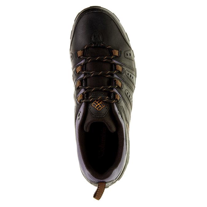 Kožená obuv v Outdoor stylu columbia, černá, 846-6004 - 19