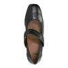Dámské kožené lodičky bata, černá, 624-6153 - 19