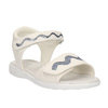 Dívčí sandály se třpytkami mini-b, bílá, 261-1159 - 13