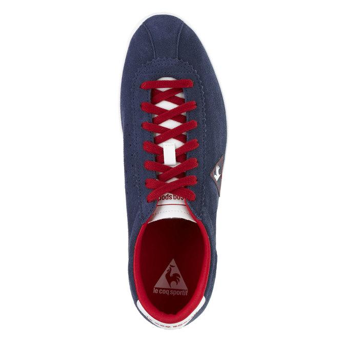Kožené tenisky le-coq-sportif, modrá, 803-9111 - 19