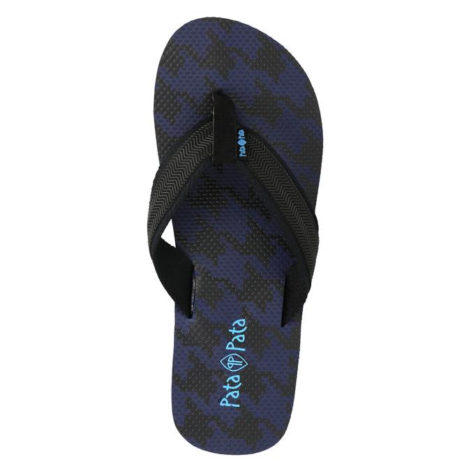 Pánské žabky pata-pata, modrá, 881-9602 - 19