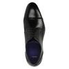 Pánské kožené polobotky bata, černá, 824-6710 - 19