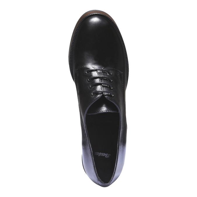Dámské polobotky na podpatku bata, černá, 724-6873 - 19
