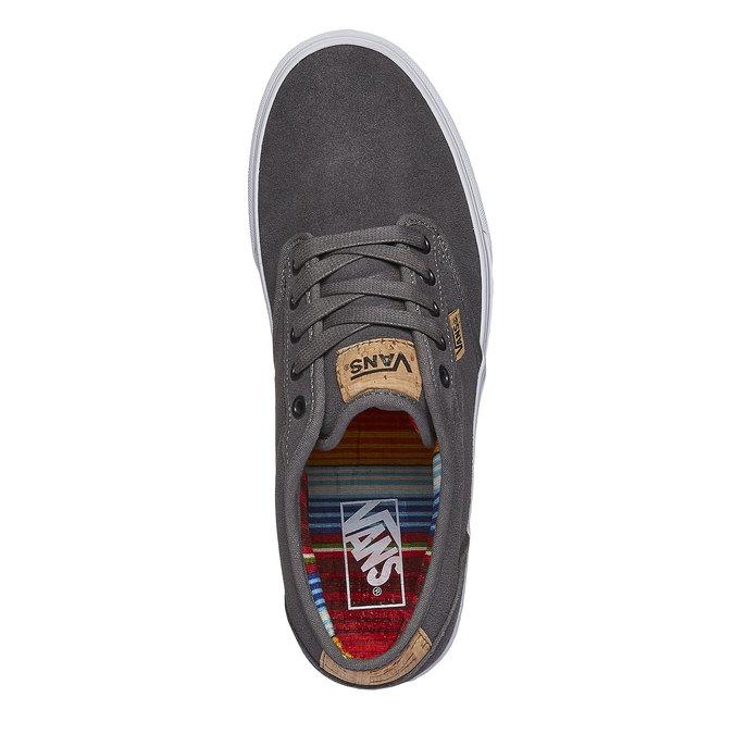Men sneakers vans, šedá, 803-2301 - 19