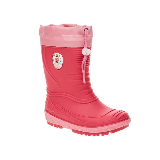 Dětské holínky mini-b, růžová, 392-5101 - 13