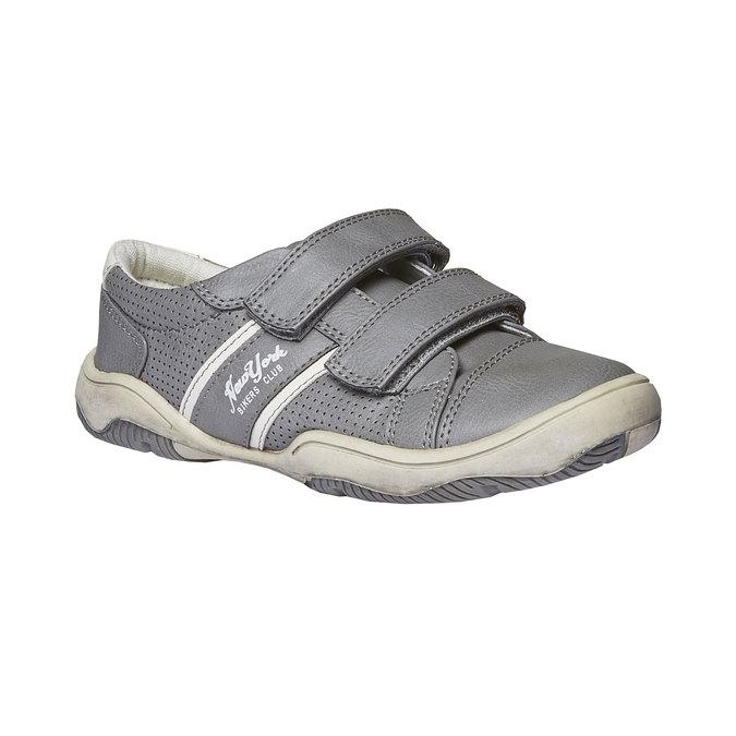 Dětské tenisky na suché zipy mini-b, šedá, 311-2214 - 13
