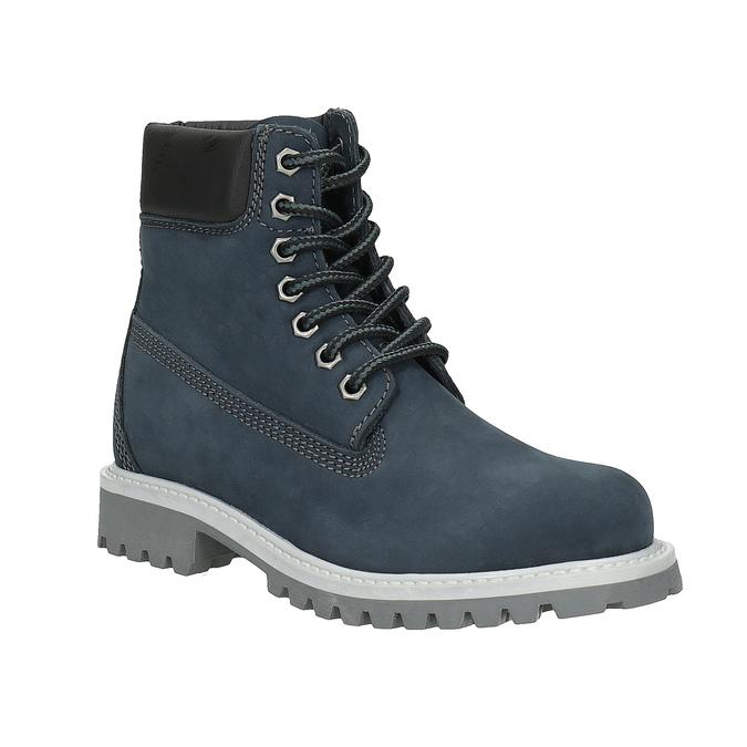 Dětská zimní obuv nad kotníky weinbrenner-junior, modrá, 396-9263 - 13