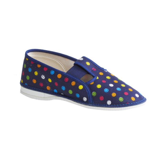 Dětské pantofle bata, modrá, 379-5012 - 13