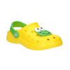 Dětské sandály Clogs s žabičkou coqui, žlutá, 301-8615 - 13