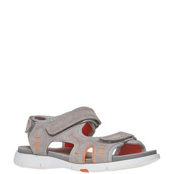 Dětské sandály flexible, šedá, 363-2188 - 13