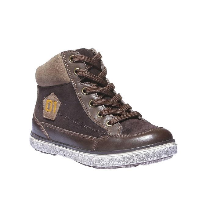Kids shoes mini-b, hnědá, 313-4178 - 13
