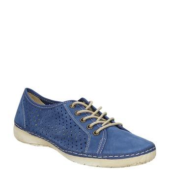 Kožené tenisky weinbrenner, modrá, 546-9238 - 13