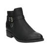 Černé kotníčkové kozačky bata, černá, 591-6602 - 13