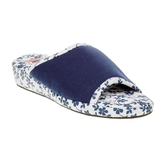 Dámská domácí obuv, modrá, 579-9246 - 13