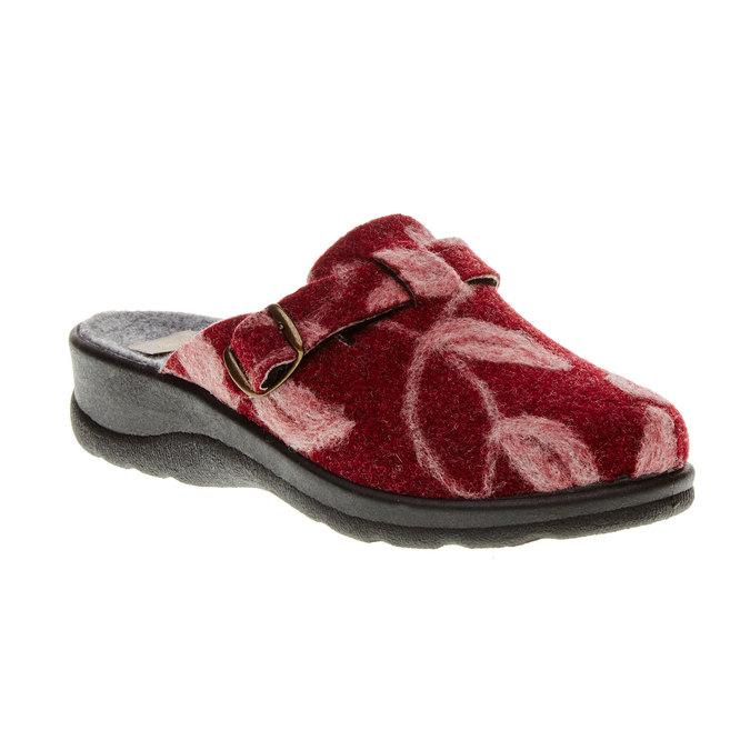 Domácí obuv bata, červená, 579-5221 - 13