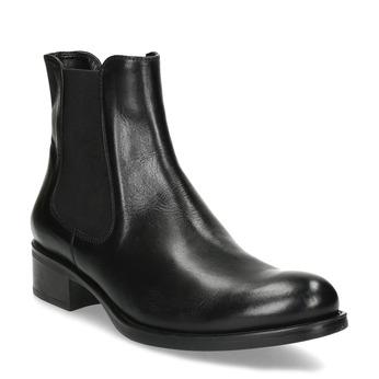 Kožená Chelsea obuv bata, černá, 594-6448 - 13