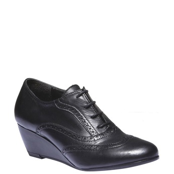 Women ankle boots bata, černá, 624-6142 - 13