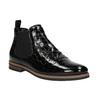 Kožené Chelsea boots bata, černá, 598-6600 - 13