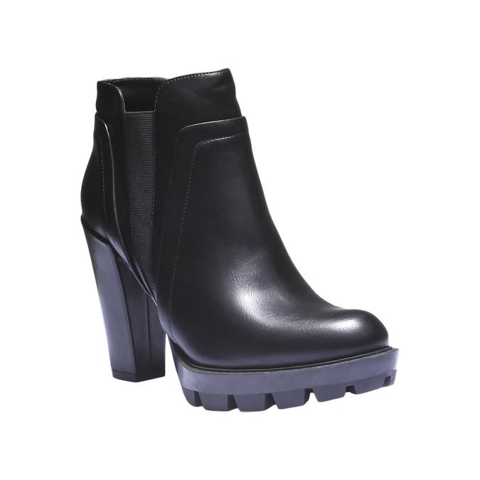 Chelsea na originální podešvi bata, černá, 791-6572 - 13
