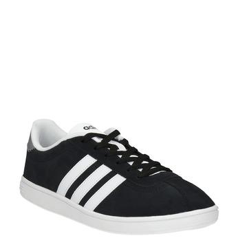 Pánské kožené tenisky adidas, černá, 803-6132 - 13