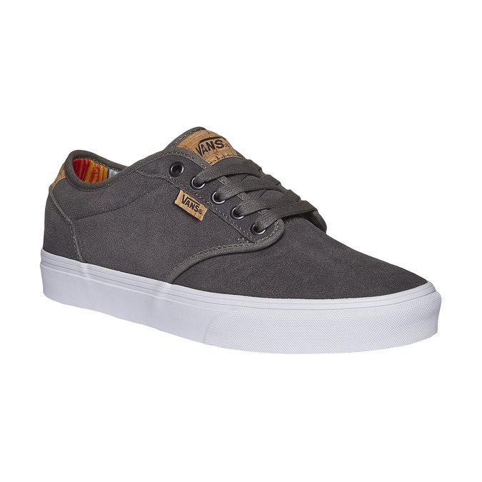 Men sneakers vans, šedá, 803-2301 - 13