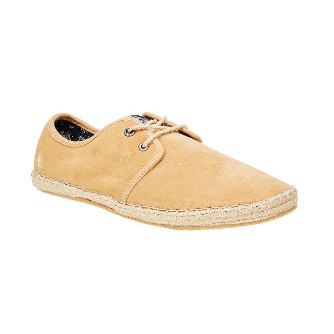 Pánské kožené tenisky pepe-jeans, hnědá, 823-3011 - 13