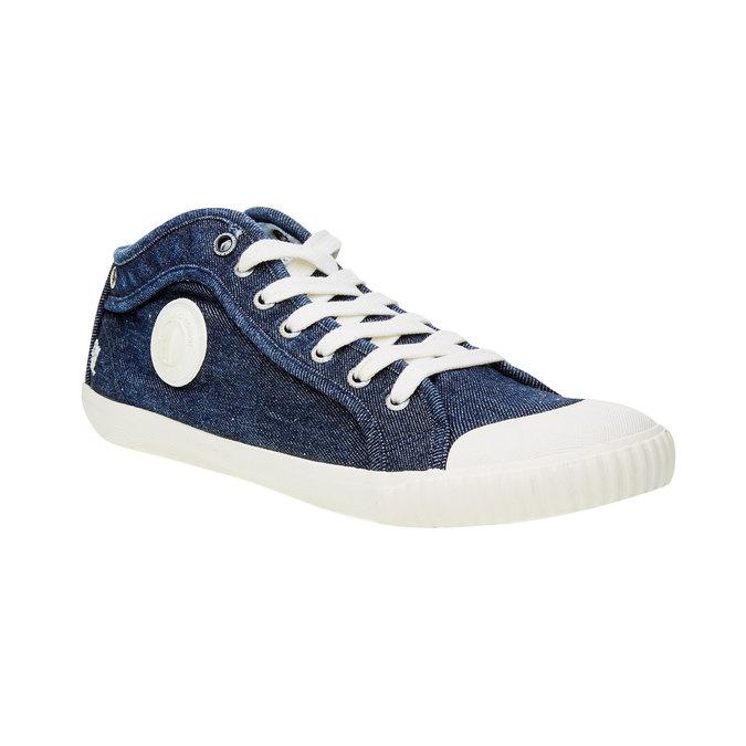 Pánské tenisky pepe-jeans, modrá, 829-9009 - 13