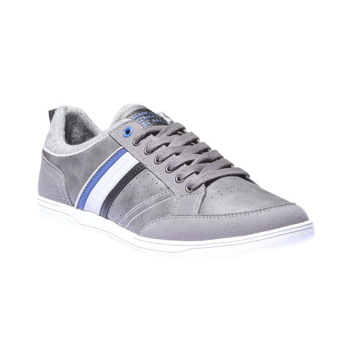 Tenisky s kontrastními detaily bata, šedá, 841-2254 - 13