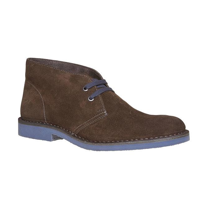 Kotníčková obuv ve stylu Chukka bata, hnědá, 893-4275 - 13