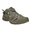 Kožená obuv v Outdoor stylu salomon, zelená, 863-8001 - 13