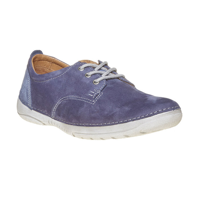 Pánská kožená obuv weinbrenner, modrá, 846-9657 - 13