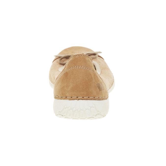 Ležérní kožené baleríny weinbrenner, hnědá, 526-3503 - 17
