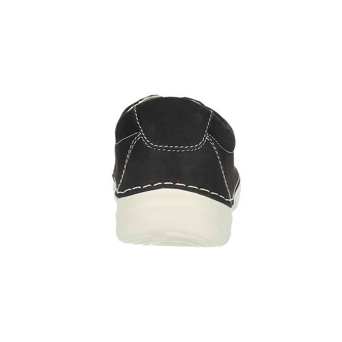 Kožené ležérní tenisky flexible, černá, 526-6603 - 17