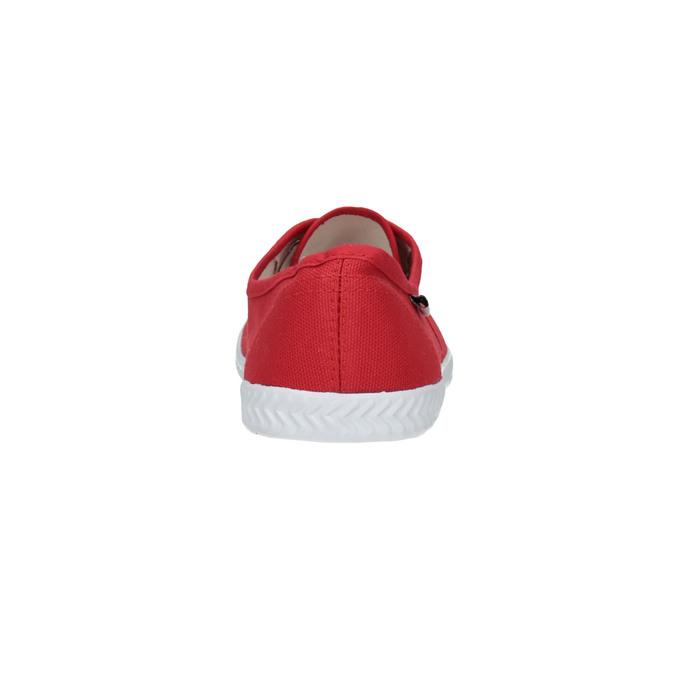 Červené dámské tenisky tomy-takkies, červená, 519-5691 - 17