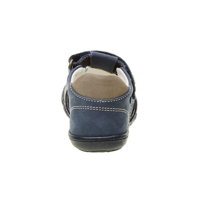 Dětské kožené sandály primigi, modrá, 113-9009 - 17