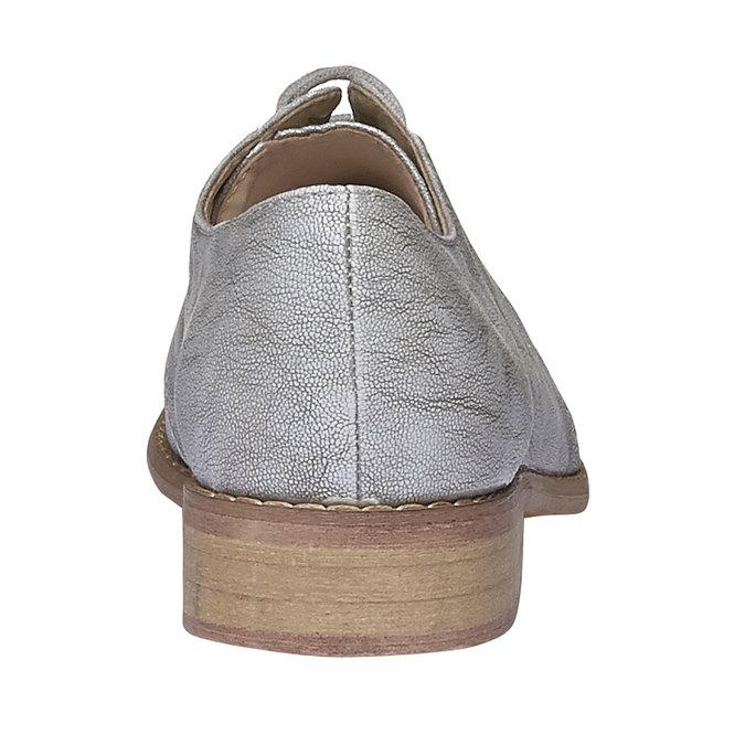 Dámské polobotky bata, šedá, 521-2477 - 17