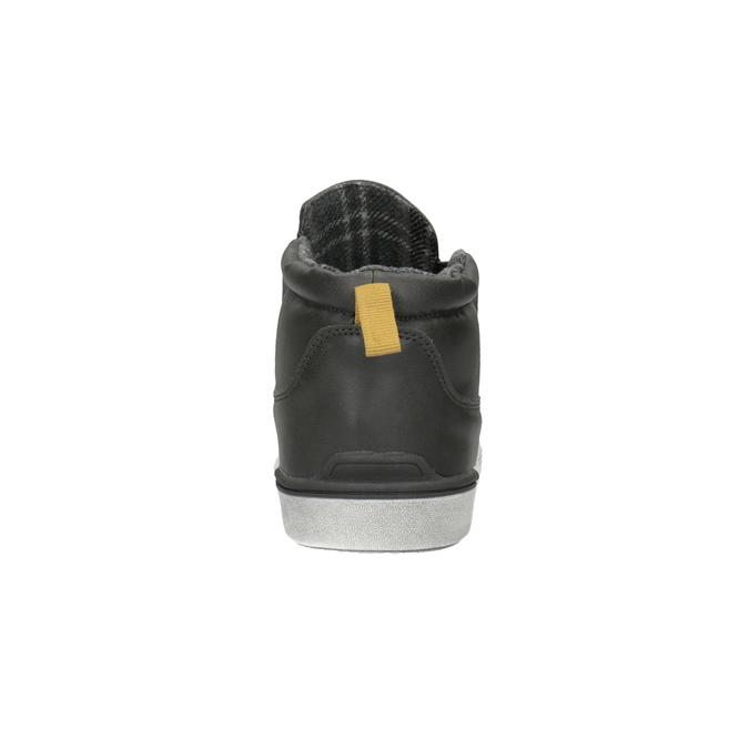 Dětská kotníčková obuv ve Slip-on stylu north-star, šedá, 411-2603 - 17