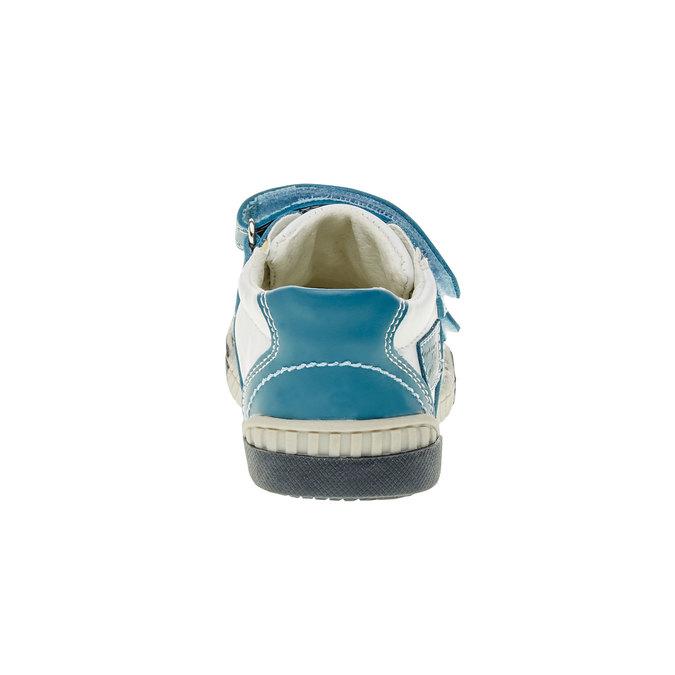 Dětské tenisky na suché zipy bubblegummer, modrá, 113-9145 - 17