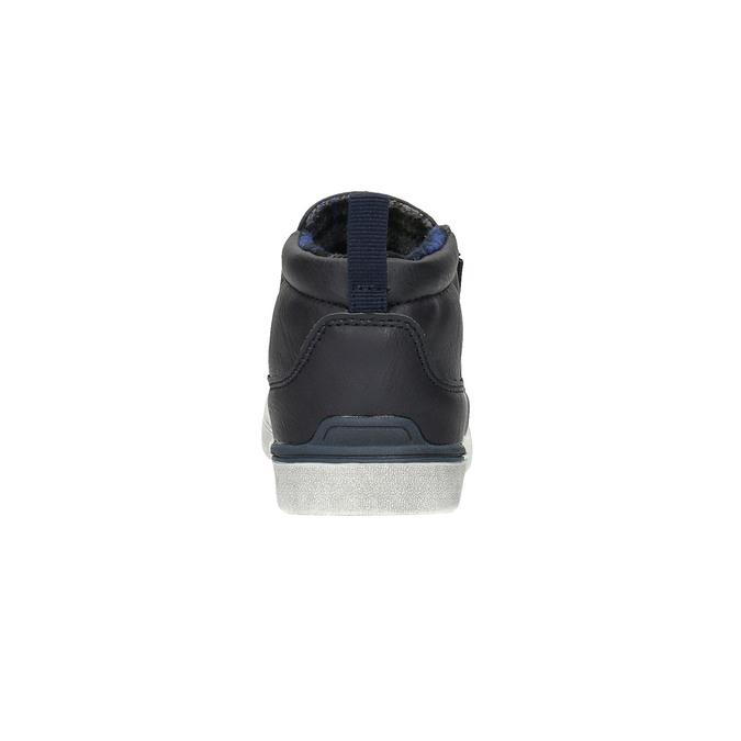Dětská kotníčková obuv typu Slip-on north-star, modrá, 411-9603 - 17