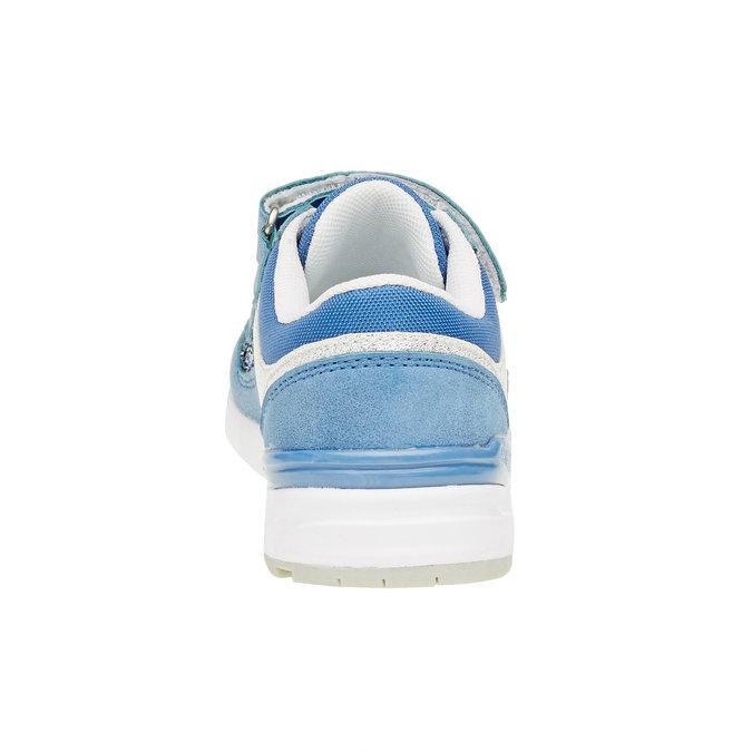 Dětské tenisky se třpytkami mini-b, modrá, 221-9150 - 17
