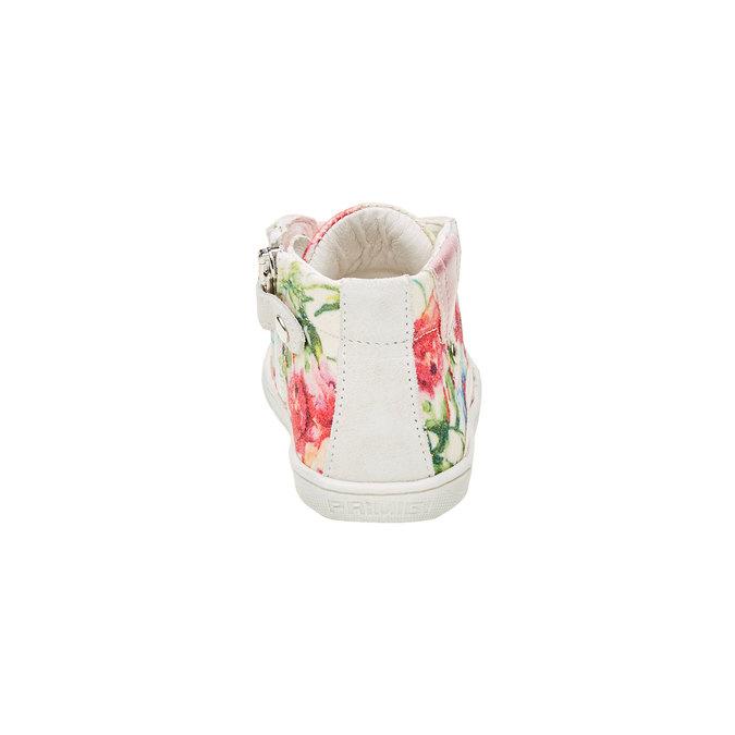 Dětské kotníčkové tenisky s květinovým potiskem primigi, růžová, bílá, 129-1137 - 17
