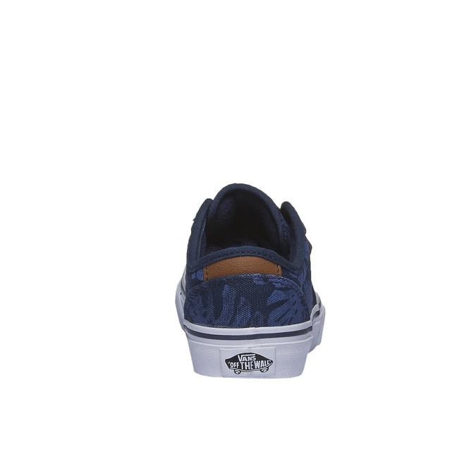 Dětské tenisky s potiskem vans, modrá, 489-9198 - 17