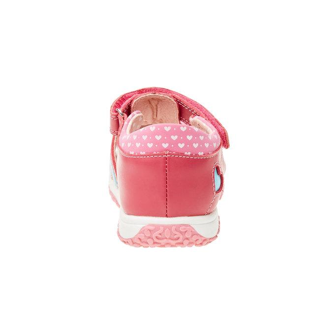 Dětská obuv s uzavřenou patou bubblegummer, růžová, 124-5142 - 17