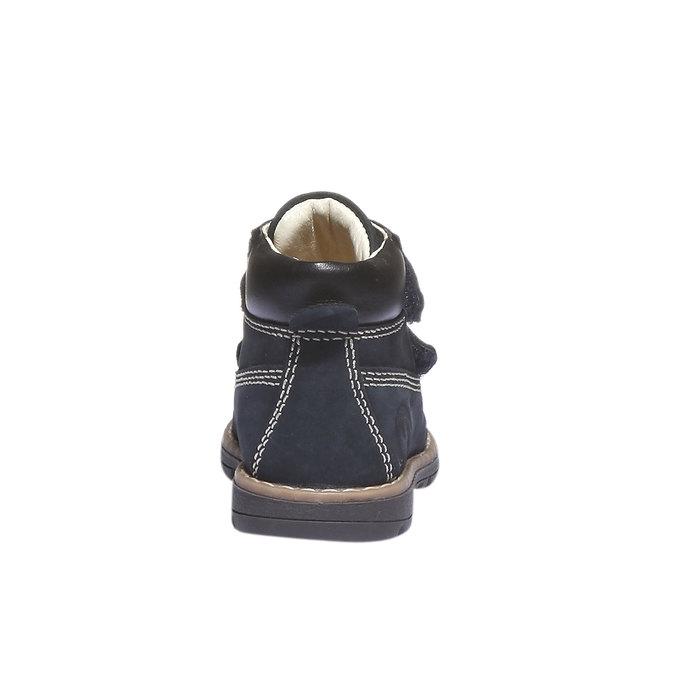 Kožené kotníkové boty primigi, modrá, 116-9134 - 17
